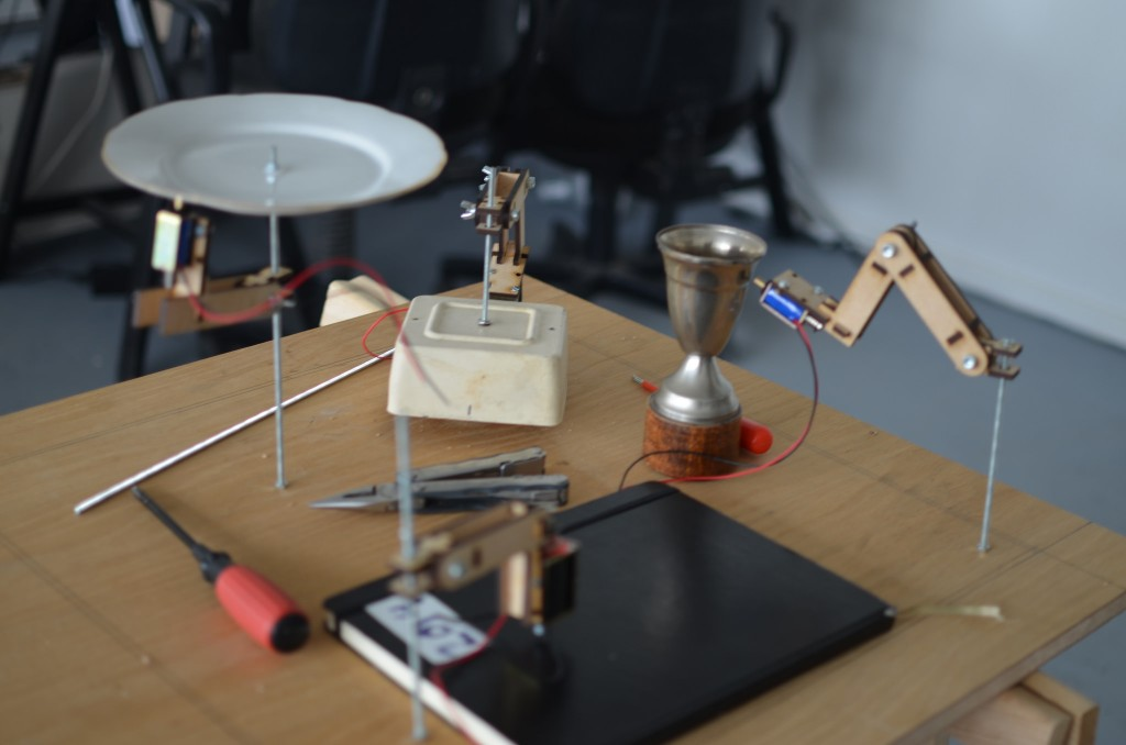 Early prototype of the Data Orchestra