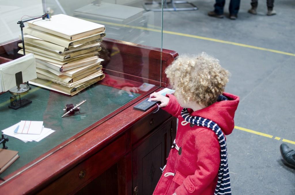 Fingerprint being read to create music