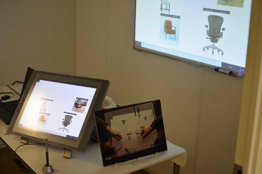 Showing some of the ways E-xplore can be used