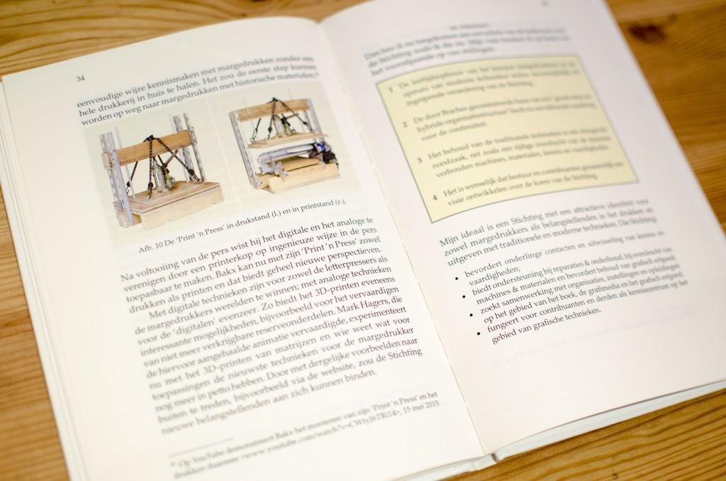 My press in a book!